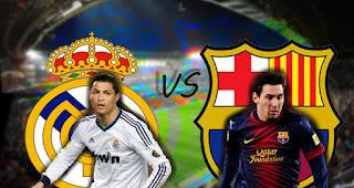 Real Madrid vs Barcelona en el Clásico de España