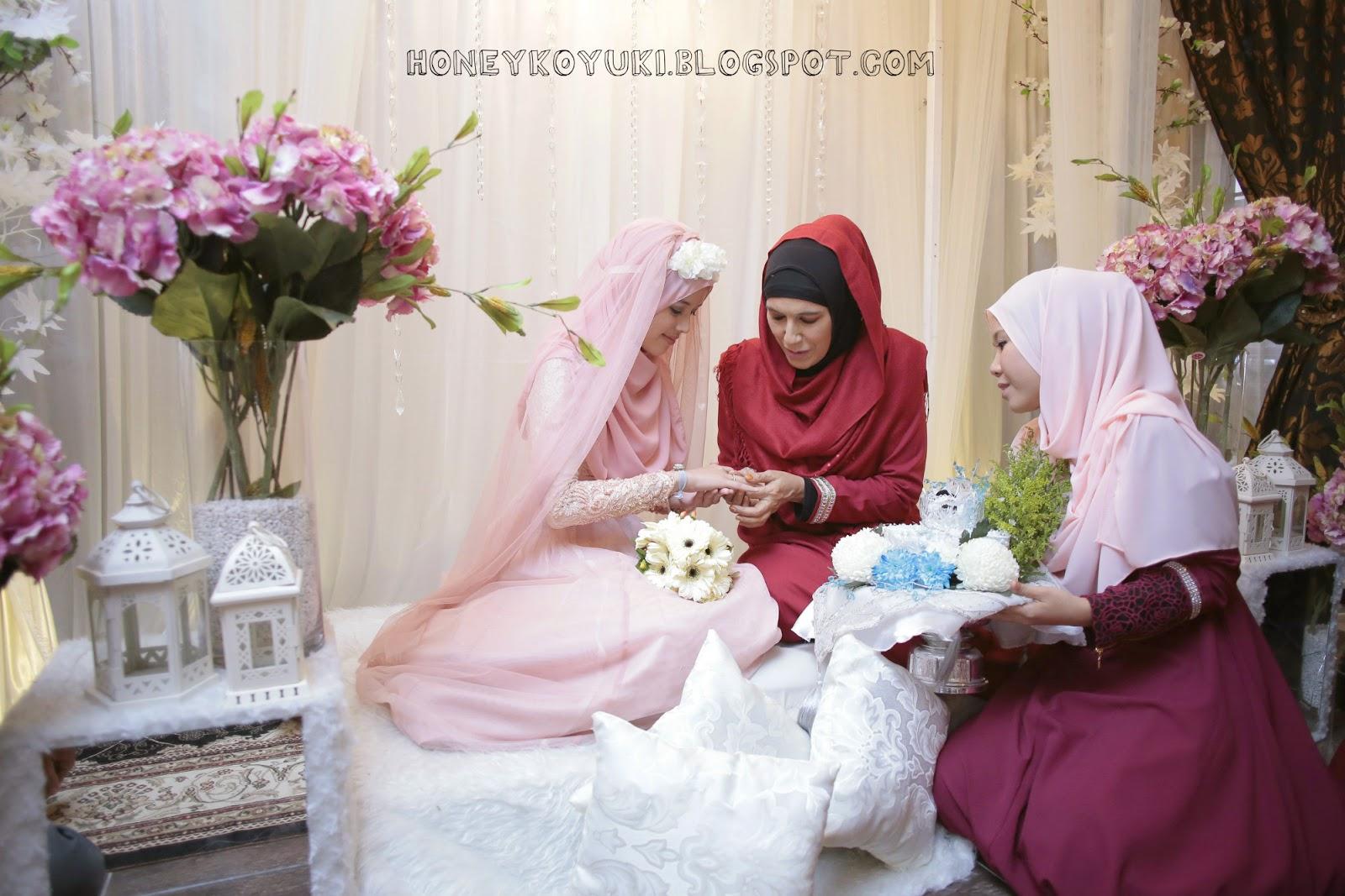 Foto Gambar Majlis Pertunangan Fatin Liyana Asri