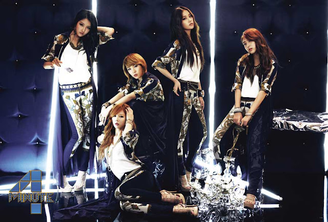 4Minute 2013 Love Tension Japan Version