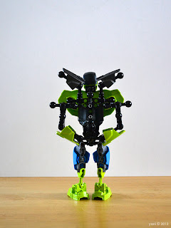 lego hulk's back