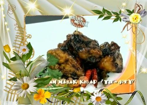 Ketuk Ketuk Ramadan 2014 Joey Daud - Ikan cili kering, Ayam Masak Kicap 'Tie-Joey'