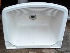 Tanque 50x50cm 20 Litros Branco Icasa