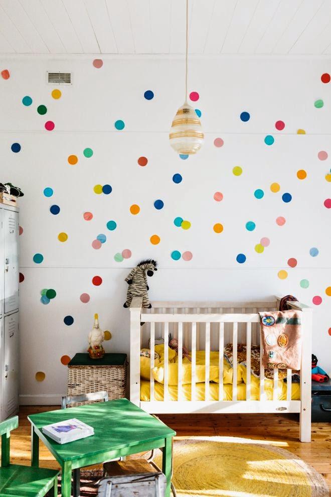 cool baby nursery