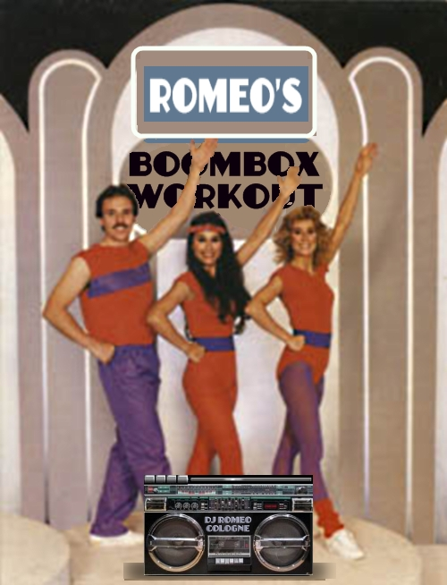 Romeo Cologne's Boombox Workout Jams!
