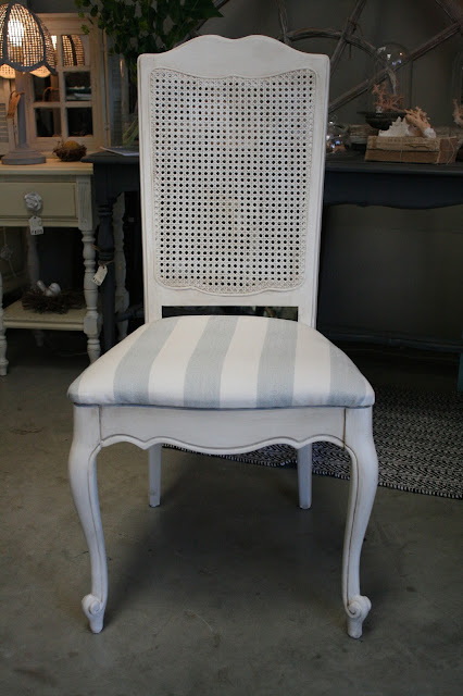 Reloved Rubbish Vintage Cane Back Dining Chair Set