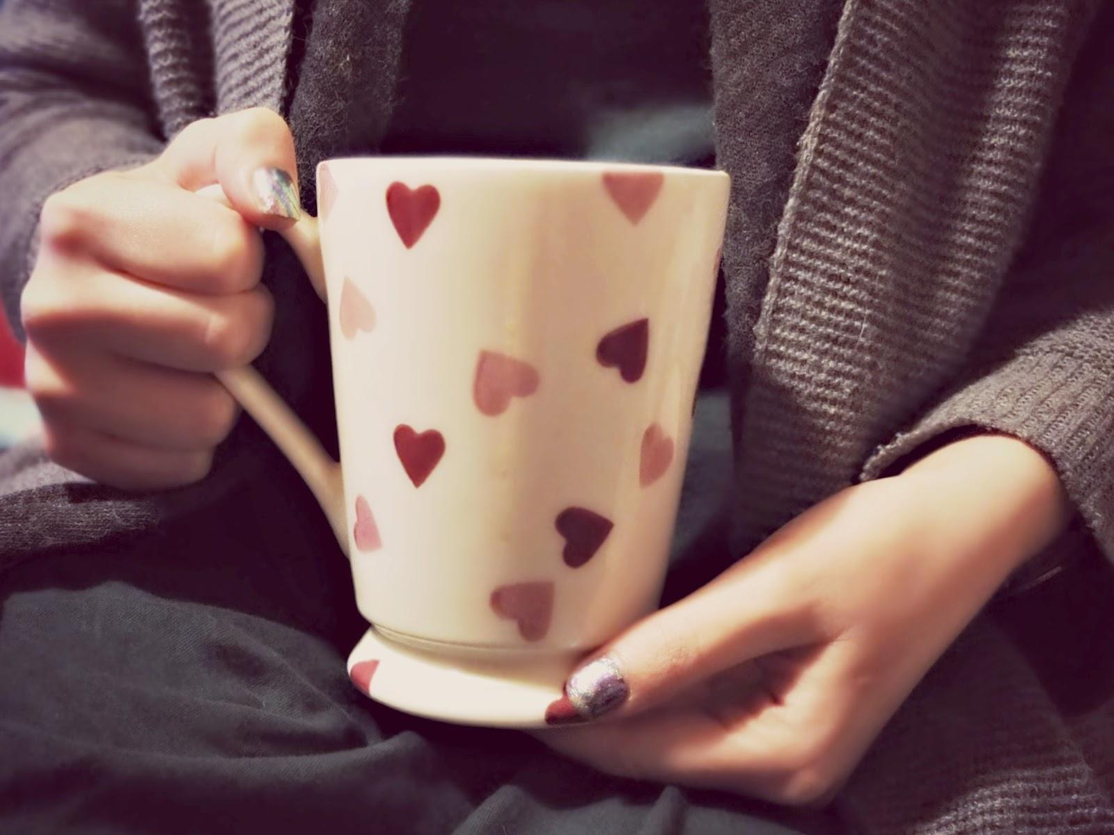 Alpro Hazelnut Original and Matcha Green Tea hot chocolate on british food blog.