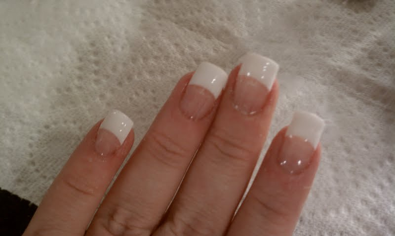 As Girly as it Gets: At home acrylic nails