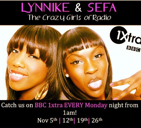 lynnike and sefa bbc 1xtra talent bang radio my week on instagram