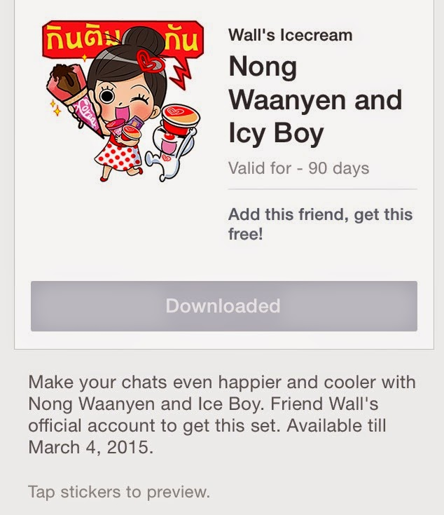 Nong Waanyen and Icy Boy sticker