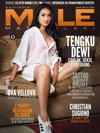 male magazine 155 - tengku dewi