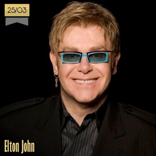 25 de marzo | Elton John - @eltonjohndotcom | Info + vídeos