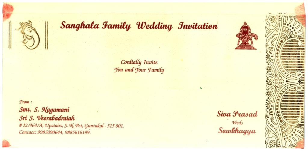 Wedding cards matter in and telugu 28 images hindu wedding cards wedding stopboris Choice Image