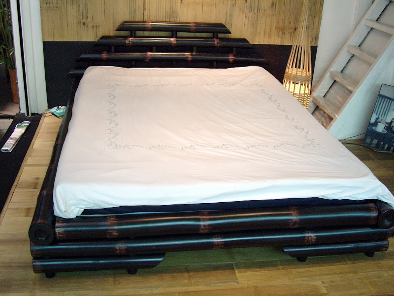 Bamboo Design Bed Sheets (9 Image)