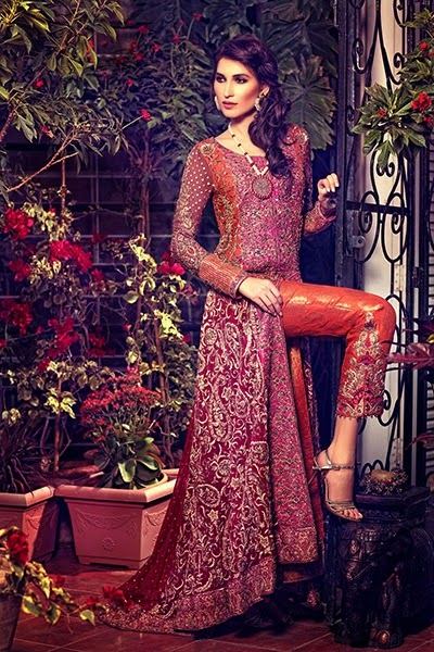 Bridal Wear Collection by Umsha by Uzma