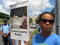 """(Fotos) Nicaragua movilizado Acción Global """"Justicia Para Berta"""""""