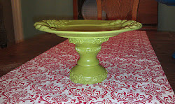 "Eden Green Platter ""Floral-y Fruit-y""(SOLD)"
