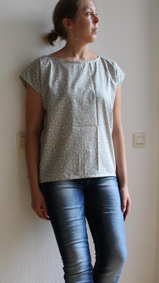 binedoro Blog, nähen, FrauFrida, Kleidung, Shirts, Bluse,