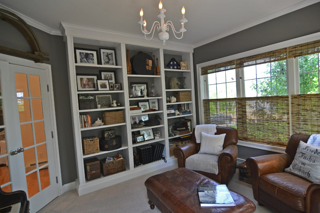 Deux Maison Benjamin Moore Amherst Grey update