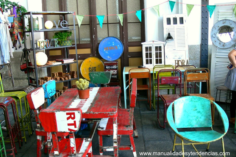 muebles de estilo industrial del mercado de motores