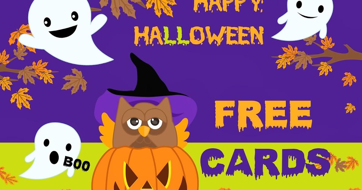 Free Printable Invitation Happy Halloween Free Cards