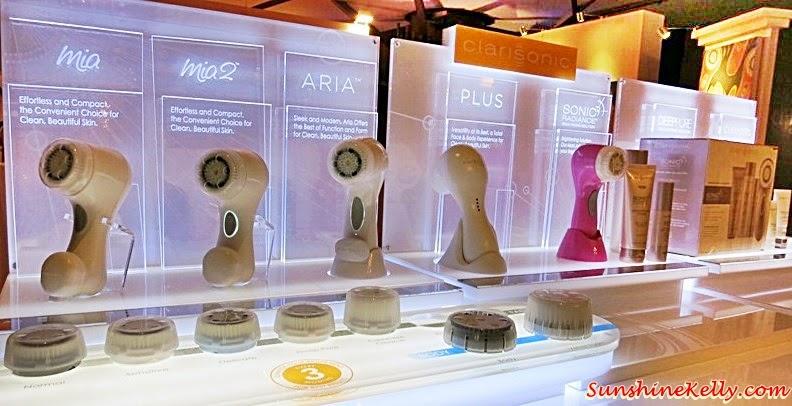 Clarisonic 10th Anniversary Celebration, Adorn, Starhill Gallery, Kuala Lumpur, Clarisonic Sonic Radiance, Clarisonic Aria