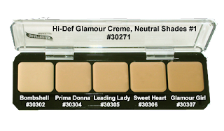 graftobian foundation palette neutral1