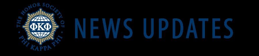 Phi Kappa Phi News Updates