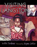 bookcover of VISITING LANGSTON by Willie Perdomo
