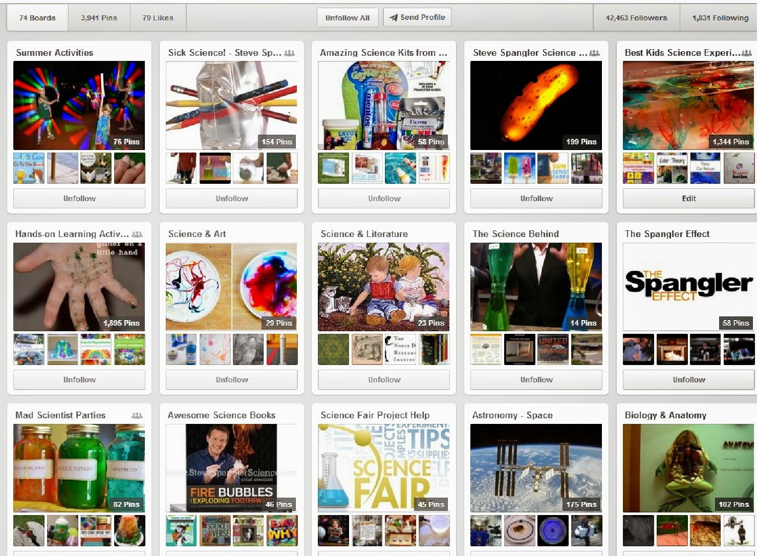 Best Science Pinterest Board for teachers, parents and homeschoolers