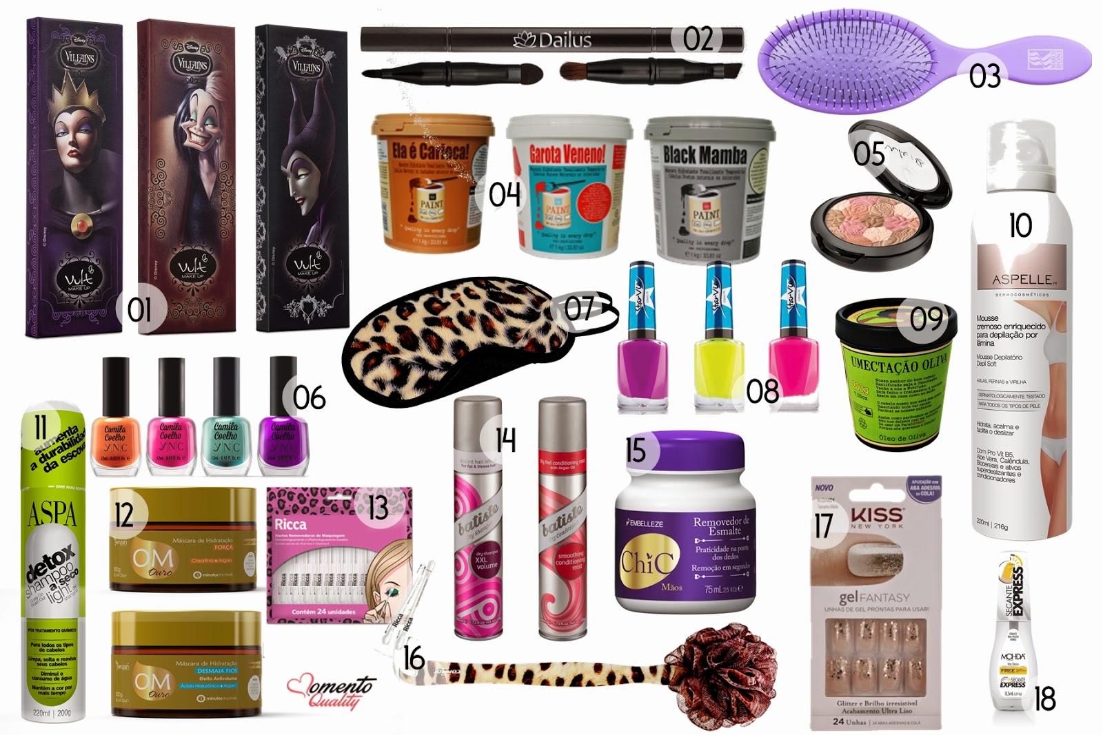 Lançamentos Beauty Fair 2014