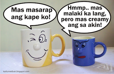 cup cartoon pinoy