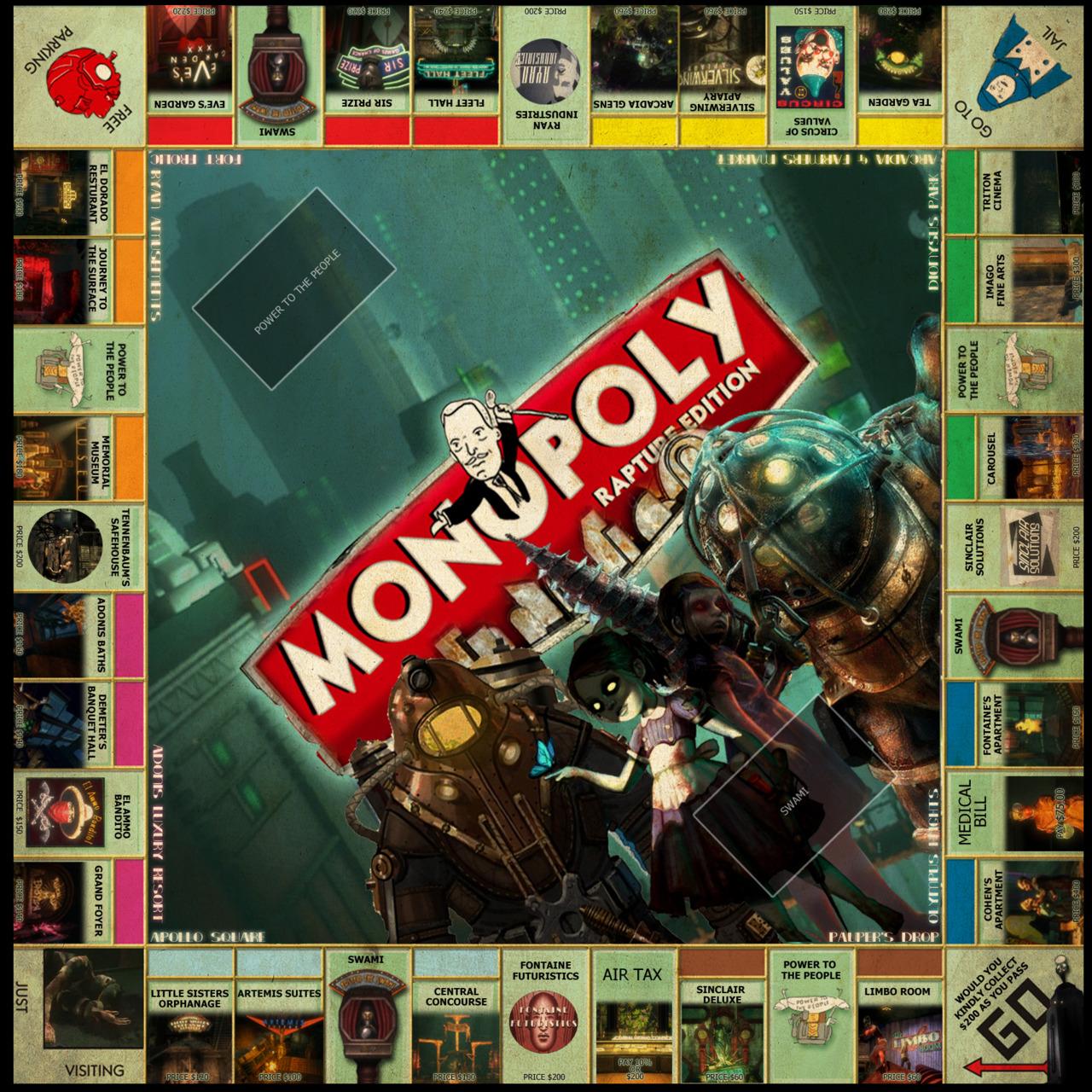 Bioshock monopoly