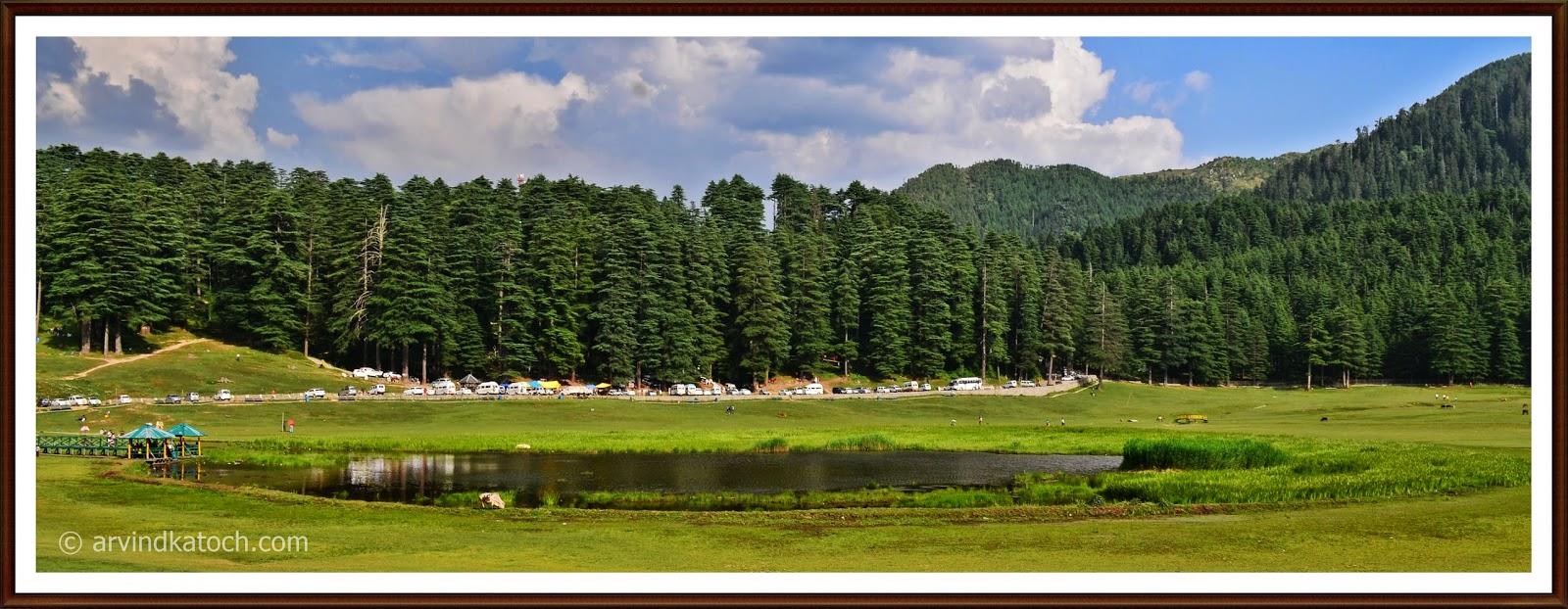 Lake, Khajjiar, Chamba, Himachal Pradesh