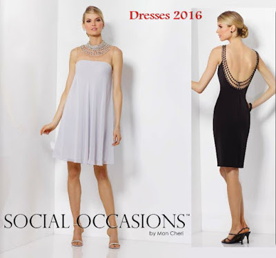 vestidos cortos 2016 social