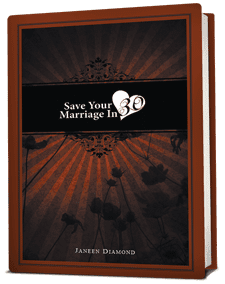 Save Your Marriage in 30 by Janeen Diamond now available!