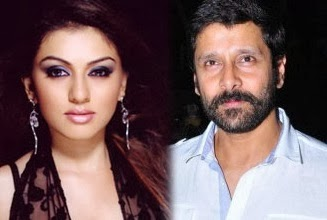 Hansika to pair with Vikram