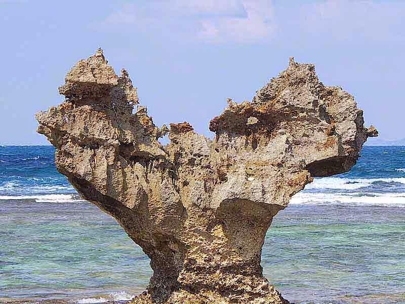 Heart Stone, Kouri-jima,Okinawa