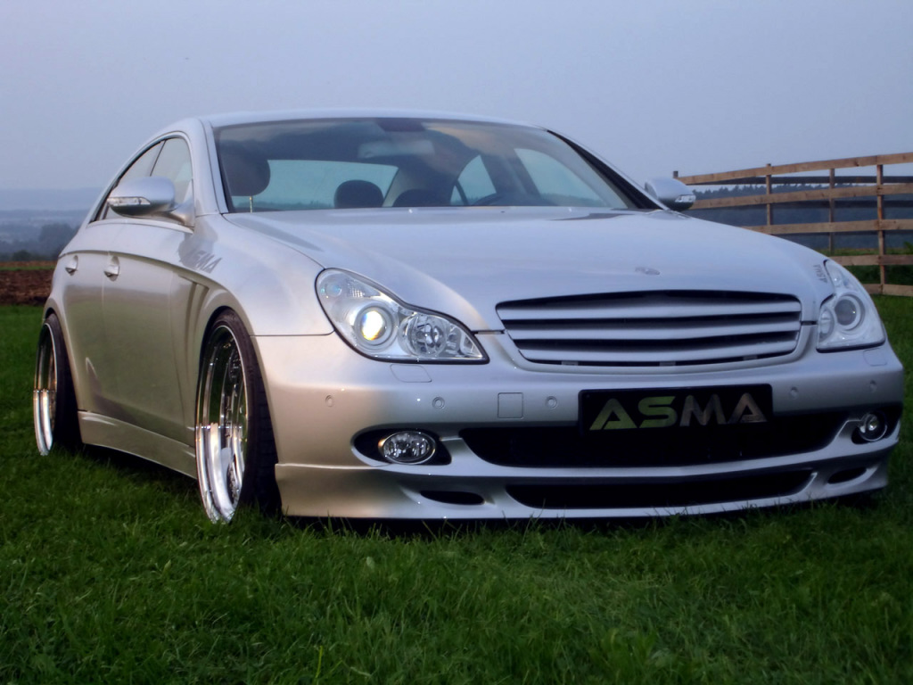 Mercedes benz cls class c219 asma design shark body kit for Mercedes benz amg kit