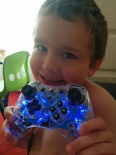 BB and his Wii U Pro Controller