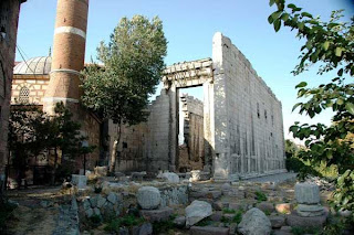 Turkey, Ankara - Temple of Augustus