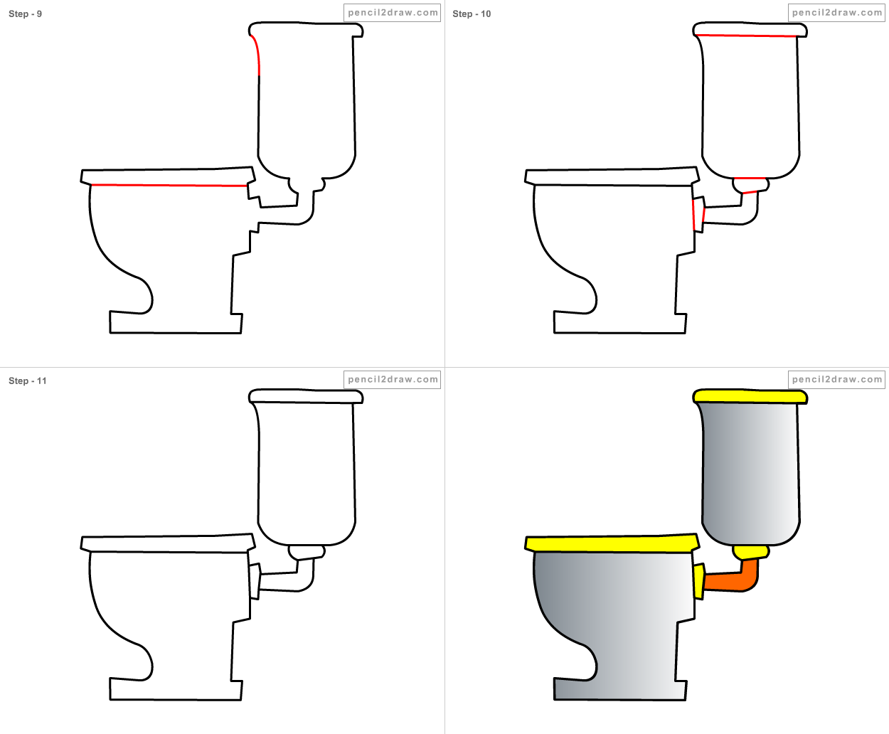 How To Draw A Bathroom. How To Draw Bathroom For Kids Step By Step 1482 How To Draw A Bathroom