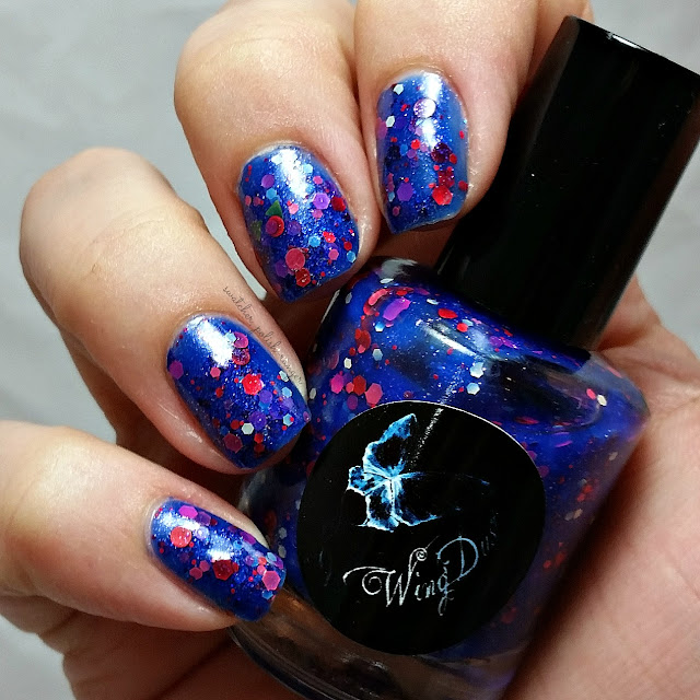 swatcher, polish-ranger | WingDust Collections Doomed from the Start swatch