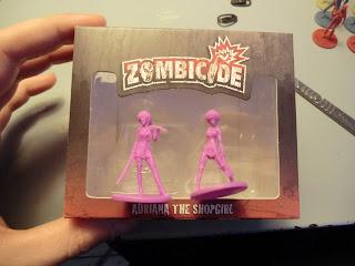 Zombicide, Kickstarter, unboxing, Season ii, Dogs, Zombie, Adriana