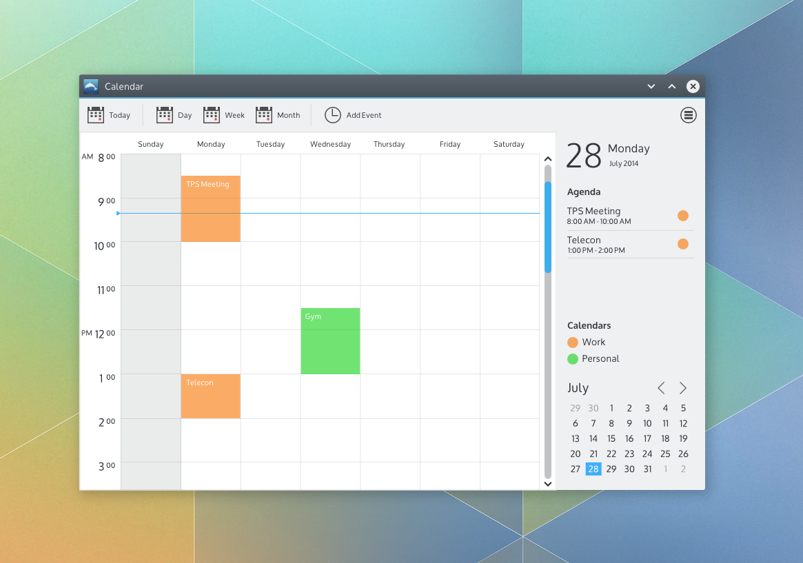 Calendar Design Guidelines : Kde visual design group layout guidelines a quick example