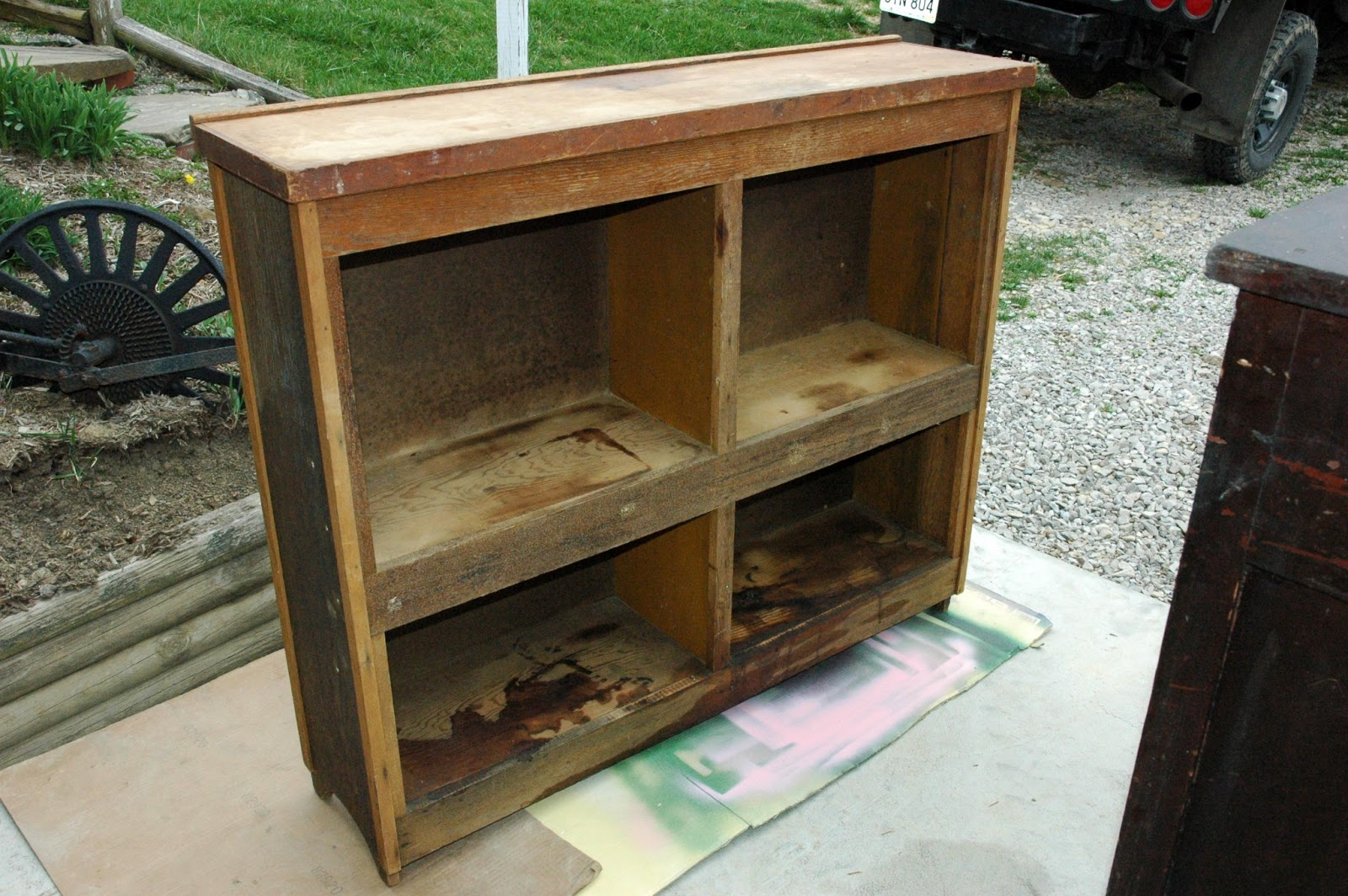 Country Lane Crafts Antiques More Trash To Treasure Before And Afters