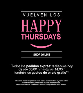 HAPPY THURSDAY EN STRADIVARIUS PORTES GRATIS