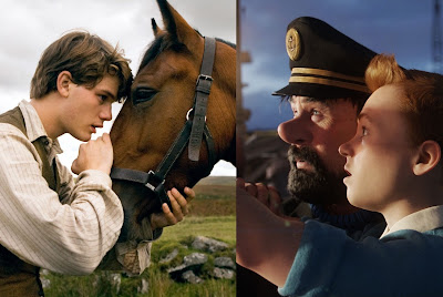 "On ""The Adventures of Tintin"" and ""War Horse"""