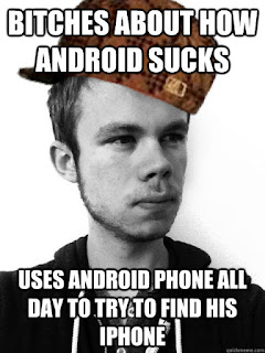 About how android sucks