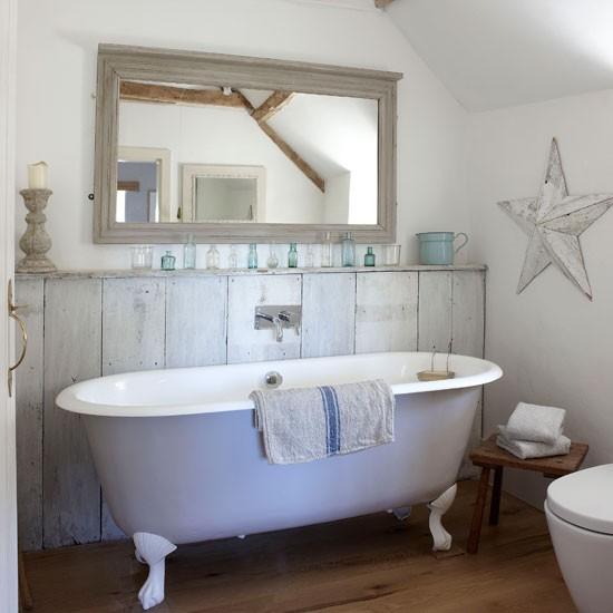 Sonar Con Baño Muy Bonito:Country Style Bathroom