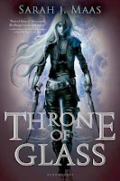 bookcover of THRONE OF GLASS  (Throne of Glass #1)  by Sarah J. Maas